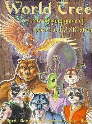 World Tree A Role Playing Game of Species and Civilization Anglais 318 pages