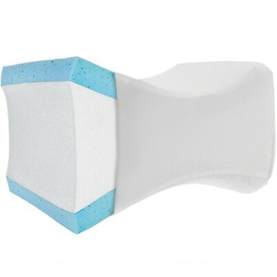 Knee Wedge Leg Pillow w/ Cover - Therapeutic Support Cushion for Knee Pain
