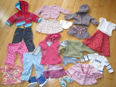 American Girl Doll Clothes All Authentic Big Lot