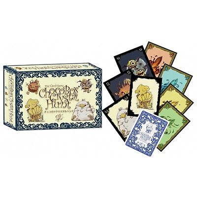 Chocobos Crystal Hunt Card Game Brand New