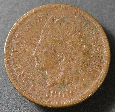1869 Indian Head Cent