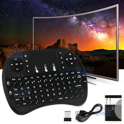 Mini 2.4GHz Wireless Remote Air Mouse Keyboard for PC & Android TV Box KODI OZ