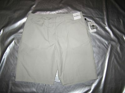 NWT TOMMY ARMOUR GOLF SHORTS WOMEN'S Size 12 Beige DRI-LOGIC wicking breathable