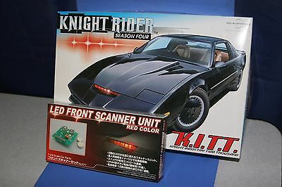 Knight Rider Season Four K.I.T.T. + Scanner 1/24  Aoshima Japan