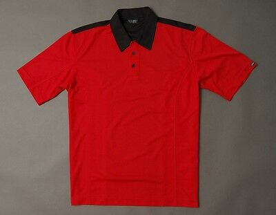 Polo Shirt Galvin Green Size L Red/black