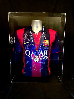 Barcelona Hand Signed Champions League Final 2015 Shirt Jersey & Medal Ucl