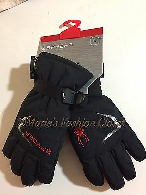 "New! Big Boys Sz: Large SPYDER ""Traverse"" 3M Insulated Waterproof Ski Gloves"