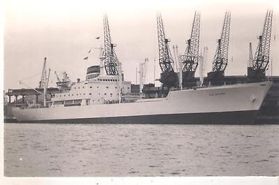 "ND05 Early Photo Card x 2, SHIPS, S.A. ""Letaba"" & S.A. ""Zebediela "", Unused."