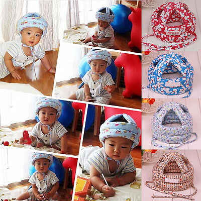 US Ventilate Adjustable Baby Safety Protect Helmet Toddler Kids Headguard Cap