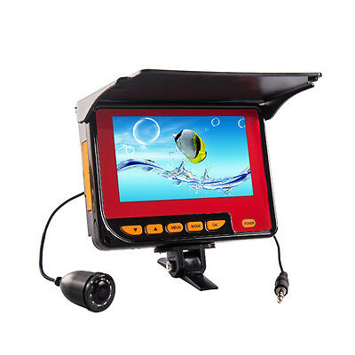 20m 4.3 Inch HD Monitor Ice Fish Finder Underwater Fishing Camera with Battery