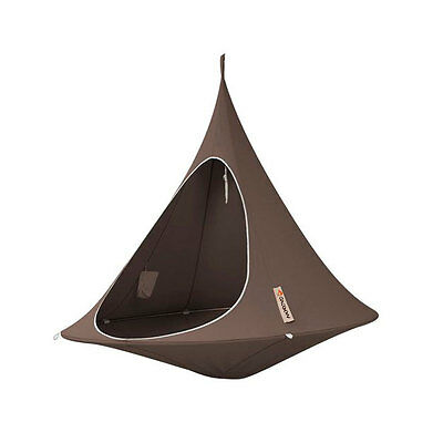 CACOON Double, hang-in-out, das Swing-Nest in taupe,180 cm Liegefläche (10714)