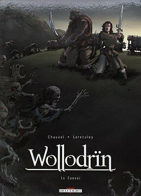 Wollodrin, Etui Tome 3 Tome 4 David Chauvel Jerome Lereculey DELCOURT Francais