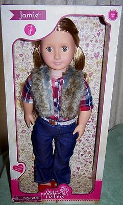 """Our Generation Retro JAMIE 18"""" Doll New"""