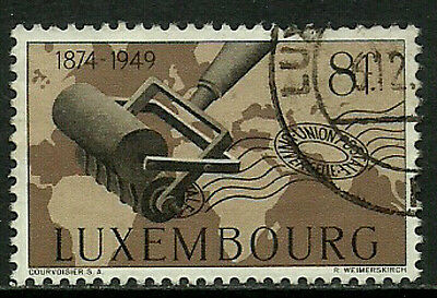 Luxembourg #264 Used Stamp - UPU - Canceller
