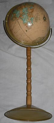 Vintage Cram's Stand-Up Imperial World Globe - See condition below