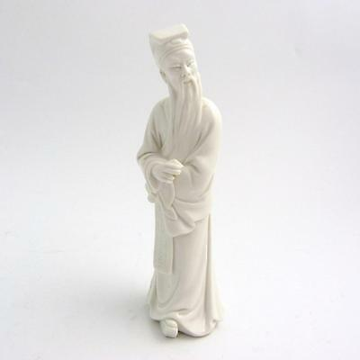 Chinese Blanc De Chine Porcelain Figure Of A Ming Dynasty Official