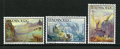 Luxembourg #844-6 Mint Never Hinged Set - Paintings