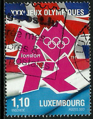 Luxembourg #1333 Used Stamp - 2012 Summer Olympics