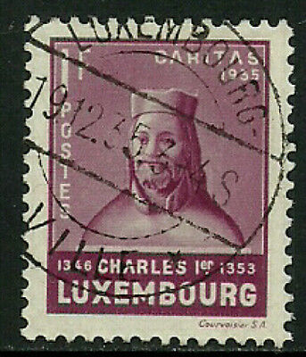 Luxembourg #B70 Used Stamp - Charles I