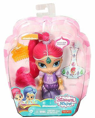 Shimmer and Shine 6 inch doll Shimmer  , Hard to Find