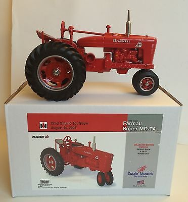 IH International Farmall Super MD-TA Tractor 22nd Ontario Show Scale Models 1/16
