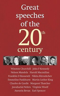 Great Speeches of the 20th Century (Hardcover), The Guardian, 9781848090385