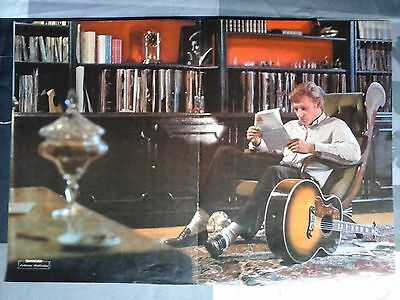 Johnny Hallyday  Poster Formidable 1965