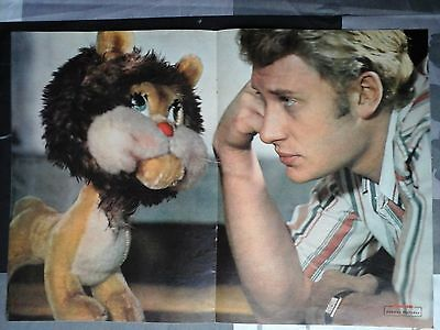 Johnny Hallyday  Poster Formidable 1964