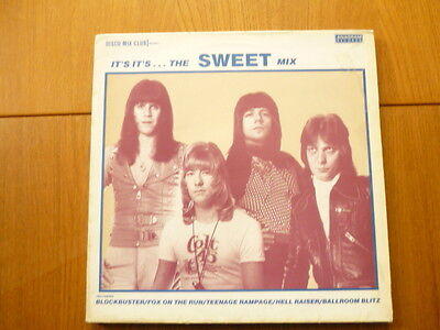 """""""The Sweet""""...'It's It's...The Sweet Mix'...12""""...French copy...1984..."""