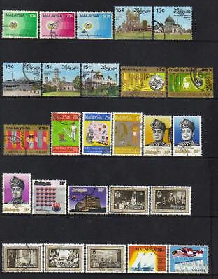 Malaysia 1975-1977 Used Selection Mostly Set 5