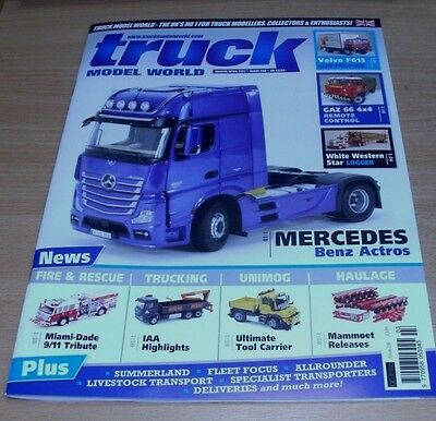 Truck Model World magazine MAR/APR 2017 Mercedes Benz Actros, Mammoet Releases &