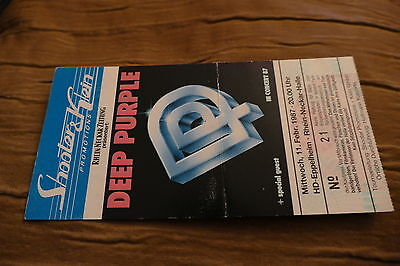 Ticket Deep Purple 1987  Germany