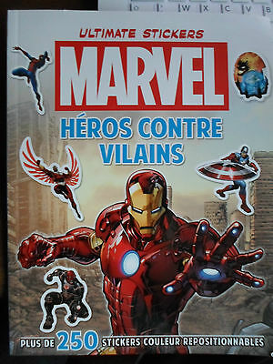 Livre Marvel Ultimate Stickers Neuf