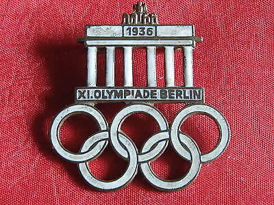Orig.Old German pin  OLYMPIA 1936 BERLIN
