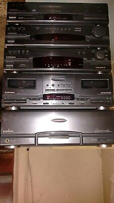 Hifi Pioneer Stereo Vintage anni 80/90 5 pezzi made in Japan
