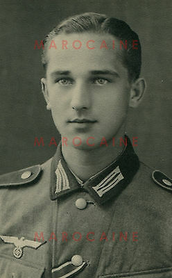 VINTAGE PHOTO German Soldiers Handsome Portrait Young Man Male 1940/4 Gay Int