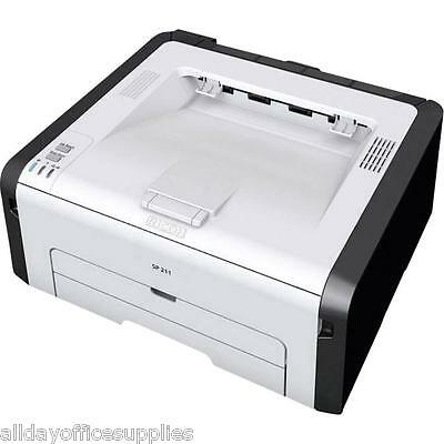 Ricoh SP 211 Mono Laser, A4, 22ppm, 2 Year Pan-European warranty, Vat Included