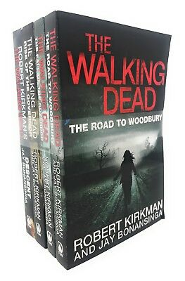 The Walking Dead Governer Series 5 Books Collection Set By Robert Kirkman