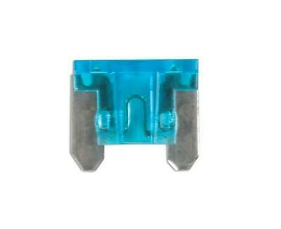 Low Profile Spare 10x Micro Blade Fuses 15 Amp For Motorbike Motor Cycle
