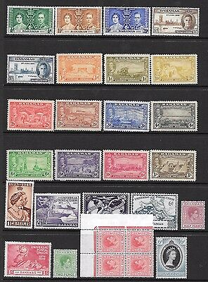 Bahamas 1937-53 issues