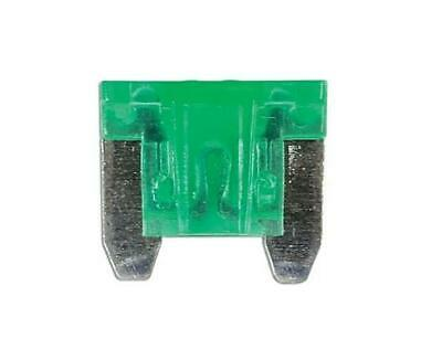 Car Spare 100x Micro Blade Fuses 30 Amp Fuse Box For Vehicles Automotives