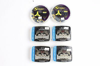 Lot of 6 Packs of Removable Golf Spikes Champ Soft Spikes 124 Spikes Total