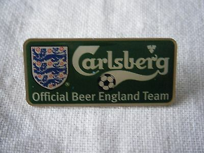 Carlsberg Official Beer Of The England Team, Football Lapel Pin Badge
