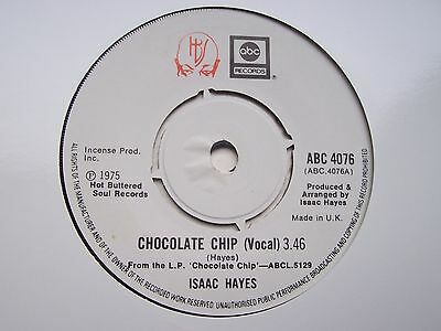 Isaac Hayes, Chocolate Chip. Killer Funk Single From 1975 On Abc