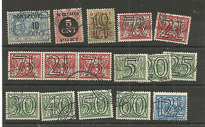 timbres anciens Pays Bas