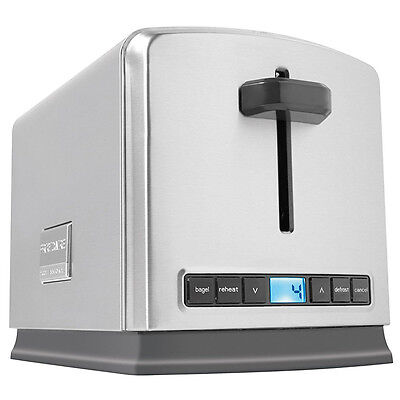 Frigidaire Professional 2 Slice 5 Function Wide Slots Stainless Steel Toaster