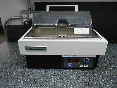 Fisher Scientific Isotemp 2Ls-M Digital Water Bath 2Lt Capacity Approx.