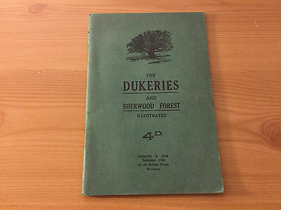The Dukeries & Sherwood Forest Illustrated Guide, 1928