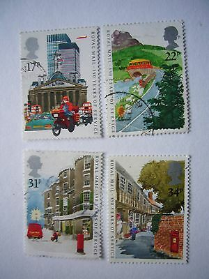 350 years of Public Postal Service fine used set from 1985