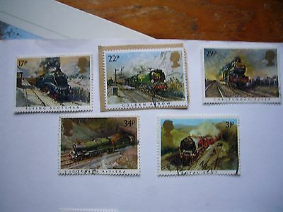 Famous Trains fine used set from 1985